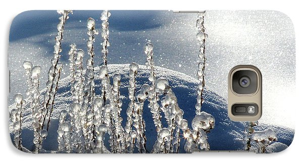 Galaxy Case featuring the photograph Icy World by Doris Potter
