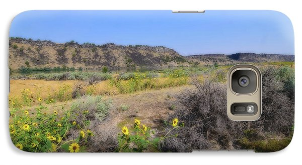 Galaxy Case featuring the photograph Idaho Landscape by Bonnie Bruno