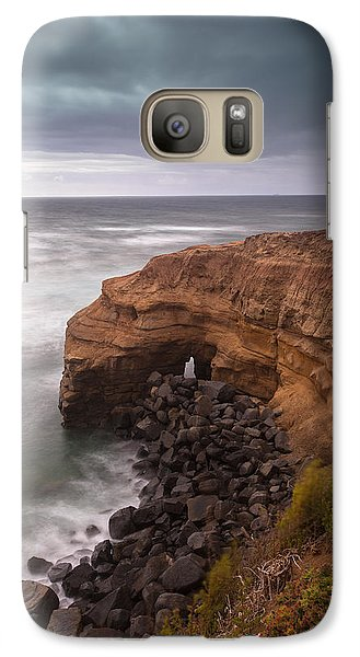 Galaxy Case featuring the photograph Idle Times by Ryan Weddle