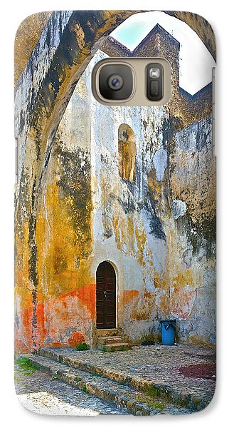 Galaxy Case featuring the photograph If These Walls Could Speak by John Bartosik