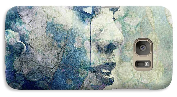 Galaxy Case featuring the digital art If You Leave Me Now  by Paul Lovering