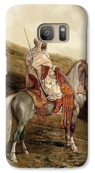 Knight Galaxy S7 Case - Il Cavaliere by Guido Borelli