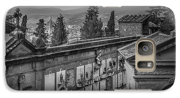 Galaxy Case featuring the photograph Il Cimitero E Il Duomo by Sonny Marcyan