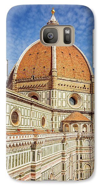 Galaxy Case featuring the photograph Il Duomo Florence Italy by Joan Carroll
