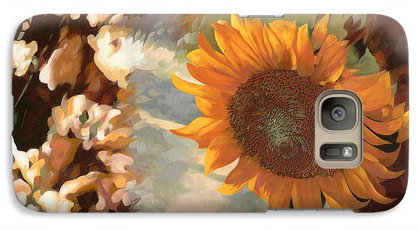 Sunflower Galaxy S7 Case - Il Girasole by Guido Borelli