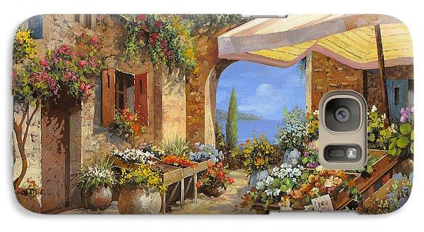 Vegetables Galaxy S7 Case - Il Mercato Del Lago by Guido Borelli