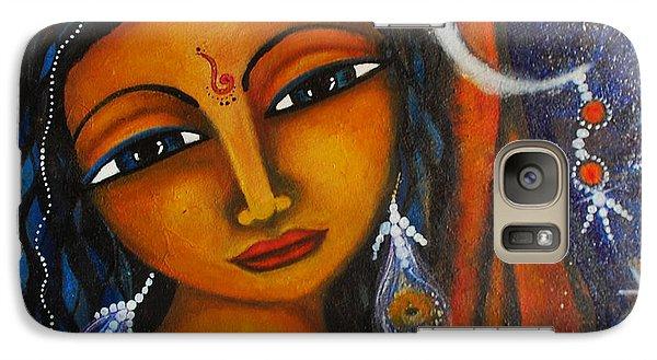 Galaxy Case featuring the painting Illuminate by Prerna Poojara
