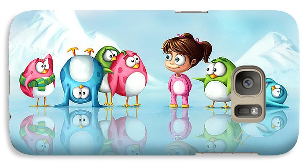 Im A Penguin Too Galaxy S7 Case