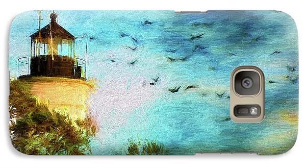 Galaxy Case featuring the photograph I'm Here To Watch You Soar II by Jan Amiss Photography