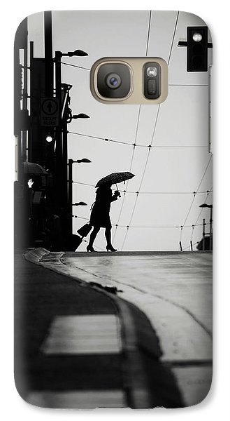 Galaxy Case featuring the photograph Im Leaving But Never  by Empty Wall
