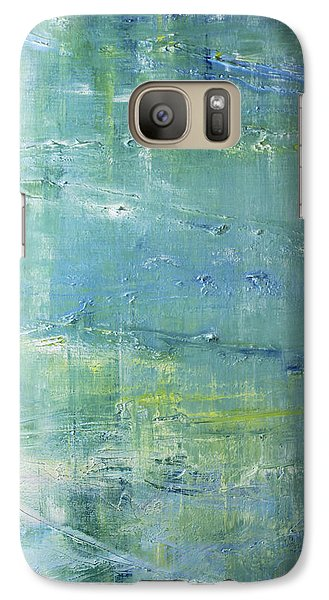 Galaxy Case featuring the painting Imagine by Dolores  Deal