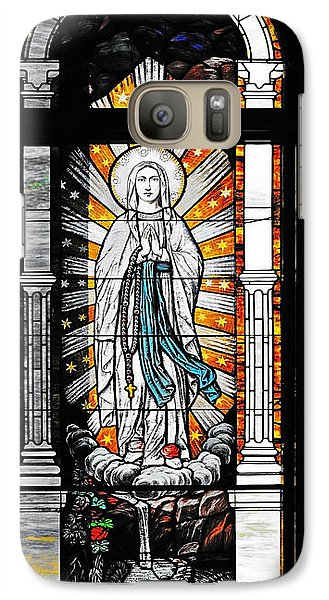 Galaxy Case featuring the photograph Immaculate Conception San Diego by Christine Till