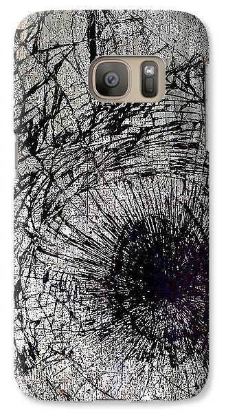 Galaxy Case featuring the mixed media Impact by Tony Rubino