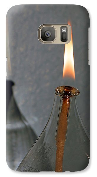 Galaxy Case featuring the digital art Impossible Shadow Oil Lamp by Jana Russon