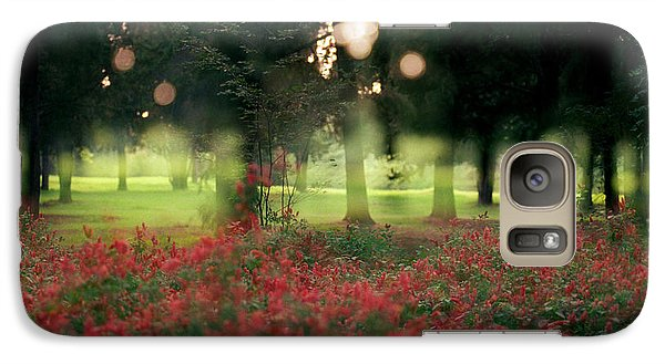 Galaxy Case featuring the photograph Impression At The Yarkon Park by Dubi Roman