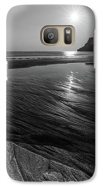 Galaxy Case featuring the photograph Impression From Talisker Beach by Davorin Mance