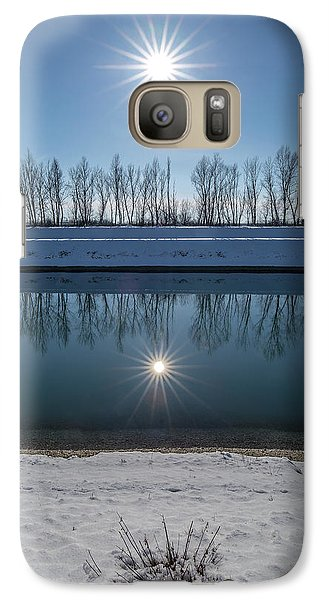 Galaxy Case featuring the photograph Impression Of Reflection by Davorin Mance