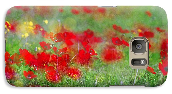 Impressionistic Blossom Near Shderot Galaxy S7 Case