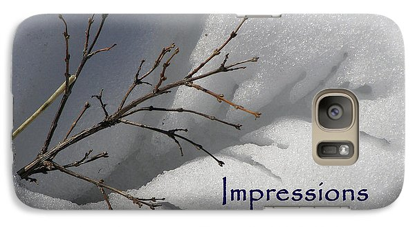 Galaxy Case featuring the photograph Impressions Can Last A Lifetime by DeeLon Merritt