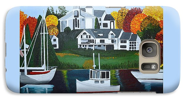 Galaxy Case featuring the painting Impressions Of New England Two by Donna Blossom