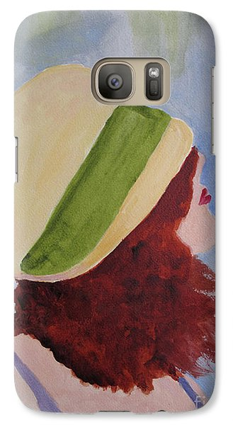 Galaxy Case featuring the painting In A Breeze by Sandy McIntire