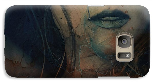 Galaxy Case featuring the mixed media In A Broken Dream  by Paul Lovering