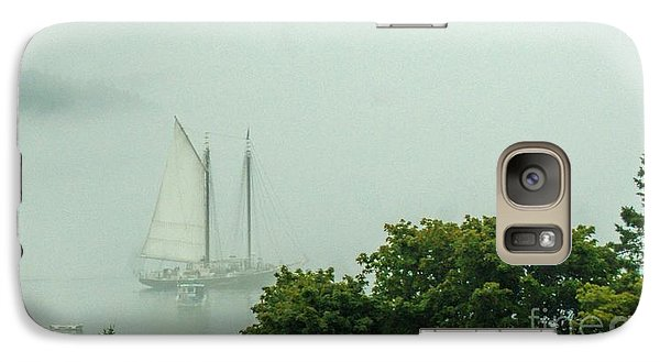 Galaxy Case featuring the photograph In A Fog by Christopher Mace
