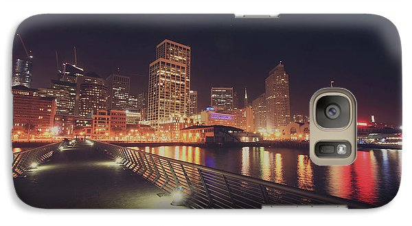 Galaxy Case featuring the photograph In A Heartbeat by Laurie Search