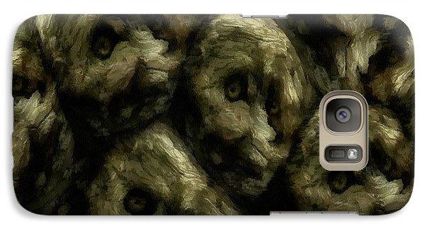 Galaxy Case featuring the digital art In A Swedish Troll Forest by Gun Legler