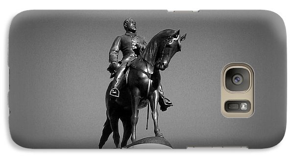 Galaxy Case featuring the photograph In All His Glory  Re Lee by Nancy Dole McGuigan