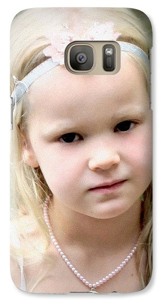 Galaxy Case featuring the photograph In Bloom by Barbara Dudley