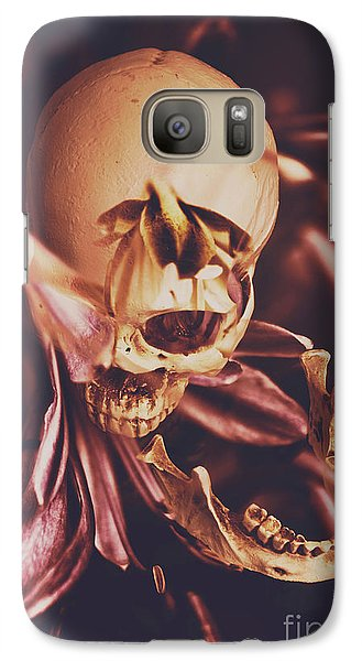 Orchid Galaxy S7 Case - In Contrasts Of Soul Growth by Jorgo Photography - Wall Art Gallery