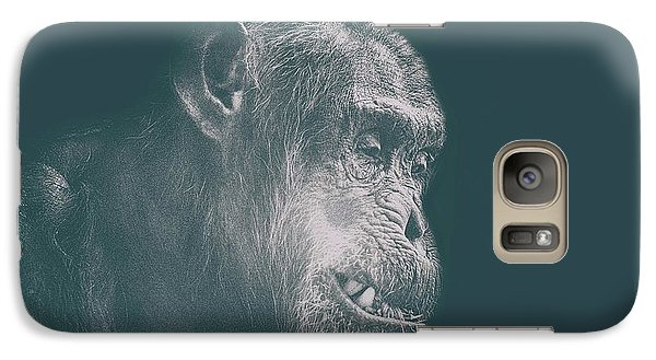 Orangutan Galaxy S7 Case - In Deep Thought by Martin Newman
