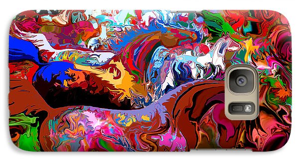 Galaxy Case featuring the digital art In Dreams by Loxi Sibley