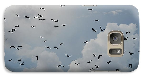 Galaxy Case featuring the photograph In Flight by Rob Hans