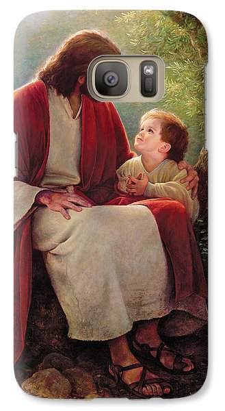 Religion Galaxy S7 Case - In His Light by Greg Olsen