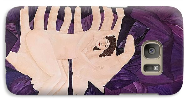 Galaxy Case featuring the painting In Loving Hands by Cheryl Bailey