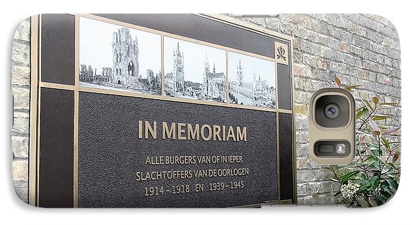 In Memoriam - Ypres Galaxy S7 Case