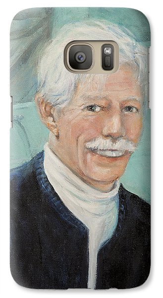 Galaxy Case featuring the painting In Memory Of Uncle Bud by Donna Tucker