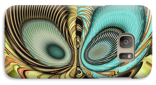 Galaxy Case featuring the digital art In My Head by Wendy J St Christopher