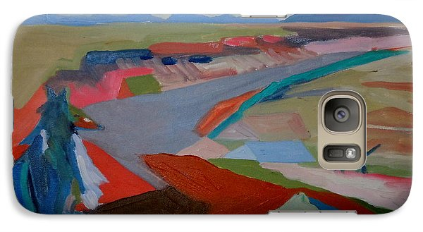 Galaxy Case featuring the painting In My Land by Francine Frank