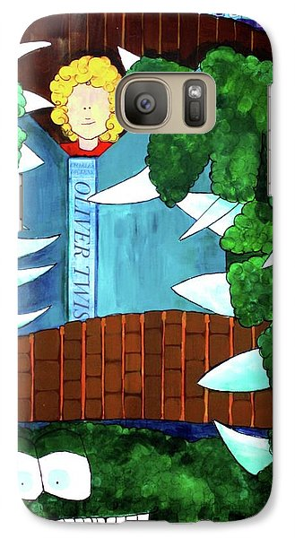 Galaxy Case featuring the painting In My Room by Donna Howard