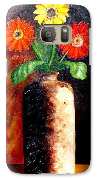 Galaxy Case featuring the painting In Sharp Contrast.  Sold by Susan Dehlinger
