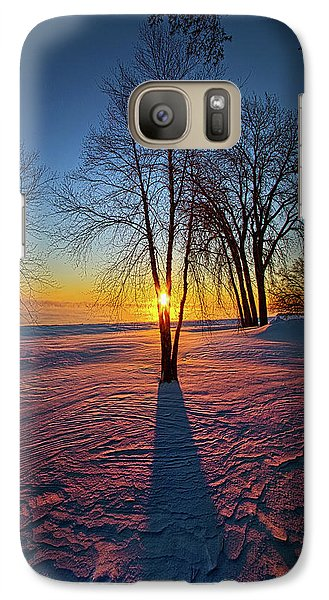 Galaxy Case featuring the photograph In That Still Place by Phil Koch