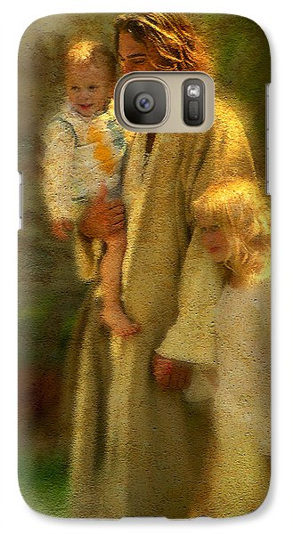Religion Galaxy S7 Case - In The Arms Of His Love by Greg Olsen