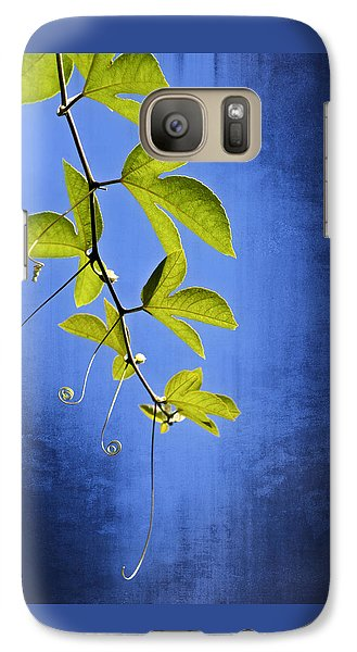 Galaxy Case featuring the photograph In The Blue by Carolyn Marshall
