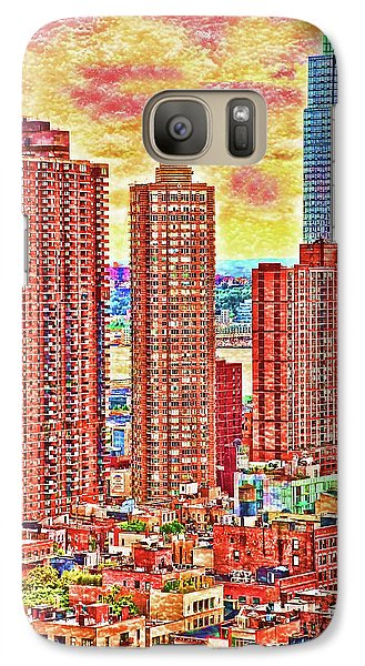 Galaxy Case featuring the photograph In The City by Barbara Manis