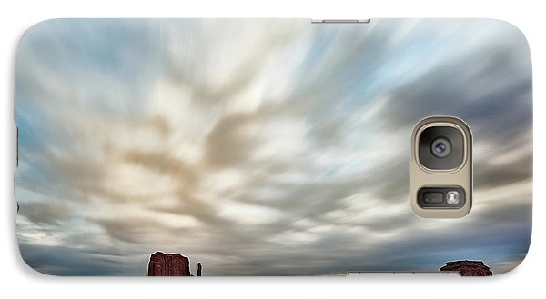 Galaxy Case featuring the photograph In The Clouds by Jon Glaser