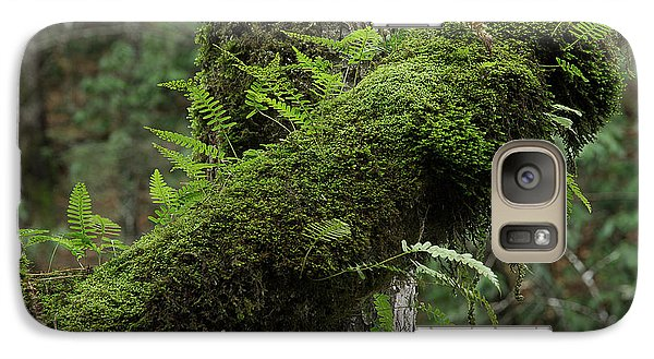 Galaxy Case featuring the photograph In The Cool Of The Forest by Mike Eingle