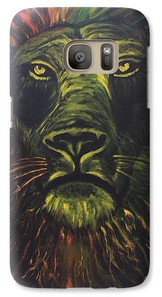 Galaxy Case featuring the painting In The Dark by Brindha Naveen